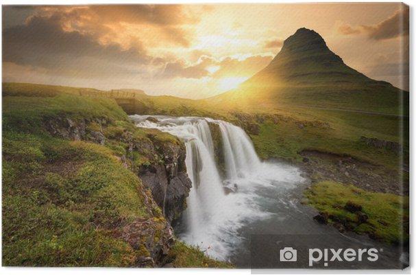 Tuval Baskı İzlanda -