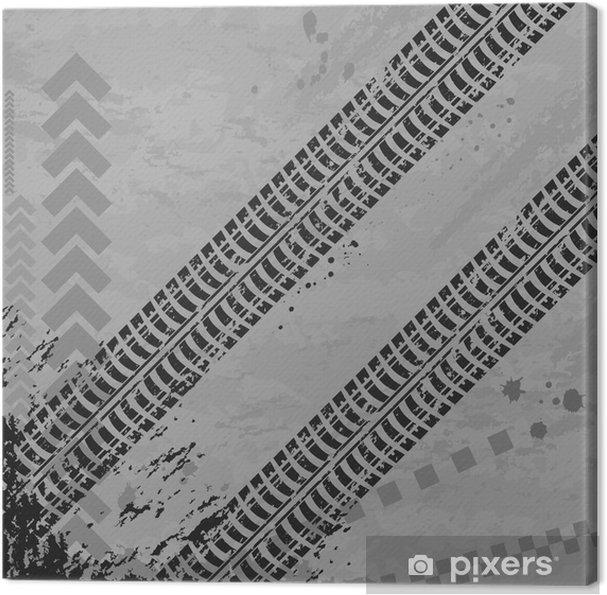 Tuval Baskı Lastik parça wallpapper - Karayolu