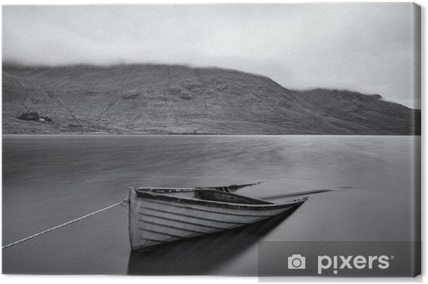 Tuval Baskı Lough Na fooey - Manzaralar