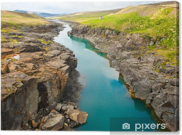 Tuval Baskı Nehir/Irmak -