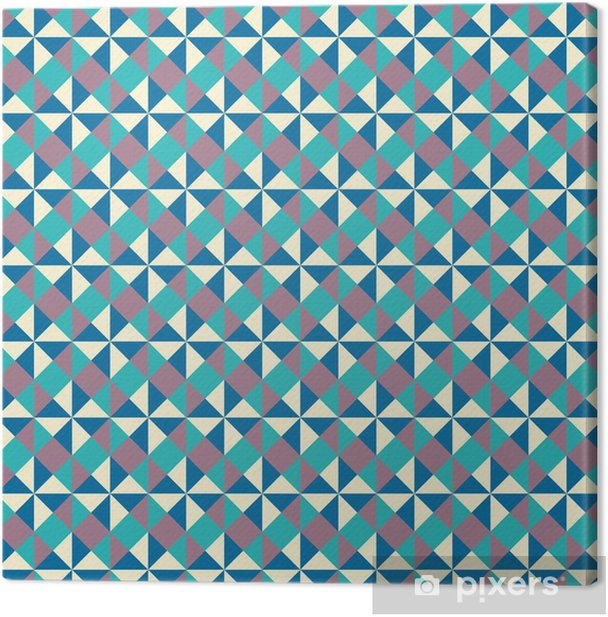 Tuval Baskı Parlak geometrik desen - Arka plan