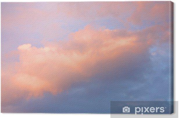 Tuval Baskı Renkli gökyüzü - Gökyüzü