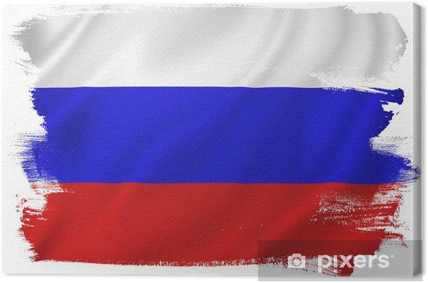 Rusya Bayrağı Tuval Baskı Pixers Haydi Dünyanızı Değiştirelim
