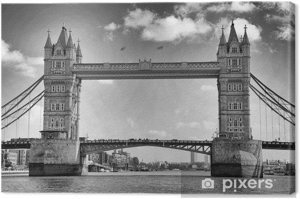 Tuval Baskı Tower Bridge, Londra, İngiltere -
