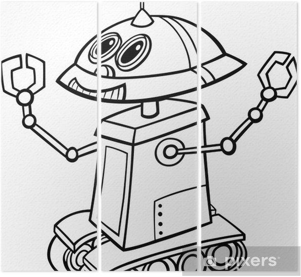 Robot Nasıl çizilir çocuklar Için Eğlenceli Boyama çizelim