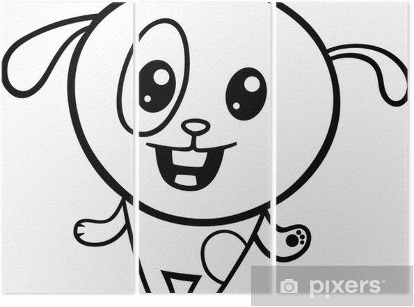 Kaç Köpek Ve Kedi Boyama Kitabı Stok Vektör Sanatı Akıllılıknin
