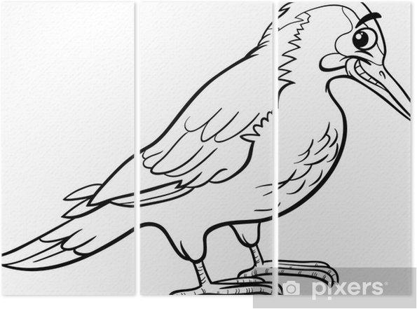 Kuş Hayvan Boyama Yaffle üç Parçalı Pixers Haydi Dünyanızı