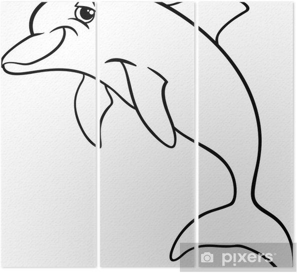 Yunus Hayvan Karikatür Boyama Kitabı üç Parçalı Pixers Haydi