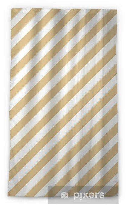 Verduisterend gordijn Streep beige naadloze patroon - Grafische Bronnen