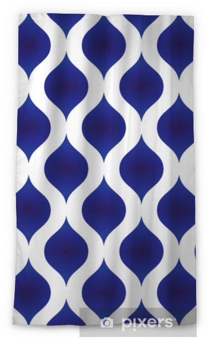Zasłona okienna nieprzepuszczająca światła Nowoczesny wzór ceramiczny - Zasoby graficzne