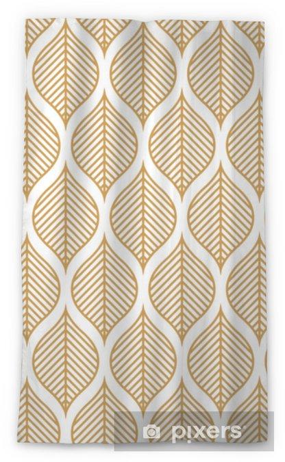 Zasłona okienna przepuszczająca światło Wektor wzór geometryczny liść. streszczenie tekstura liści. - Zasoby graficzne