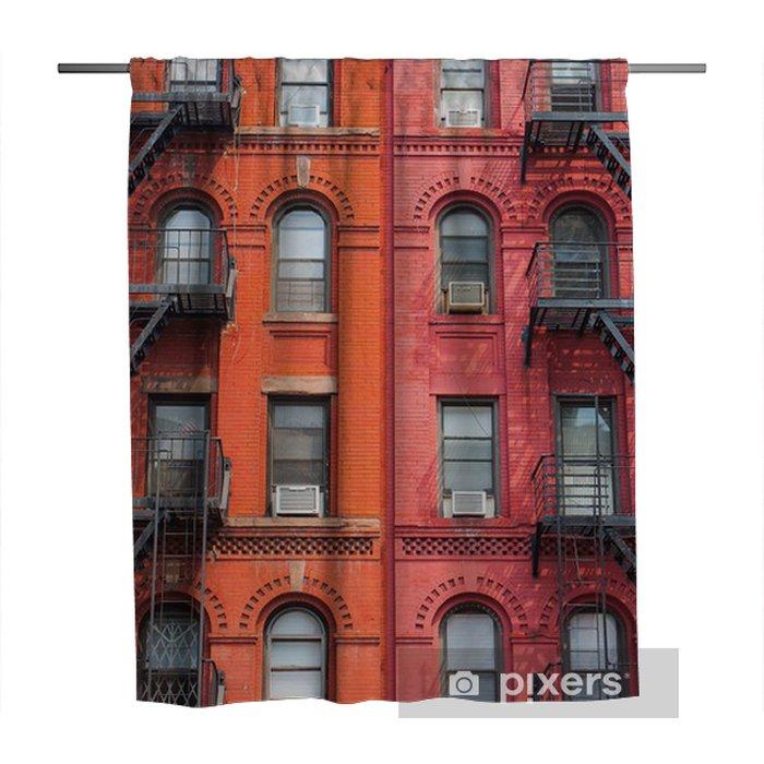 Zasłona prysznicowa Szczegół Nowym Jorku budynków - Miasta amerykańskie