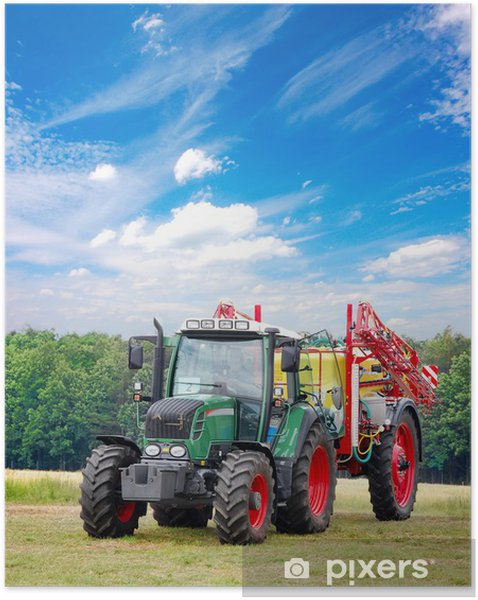 Zelfklevende Poster Tractor - Thema's