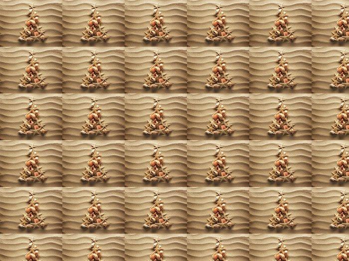 Vinylová Tapeta Sea shell písku - Pozadí