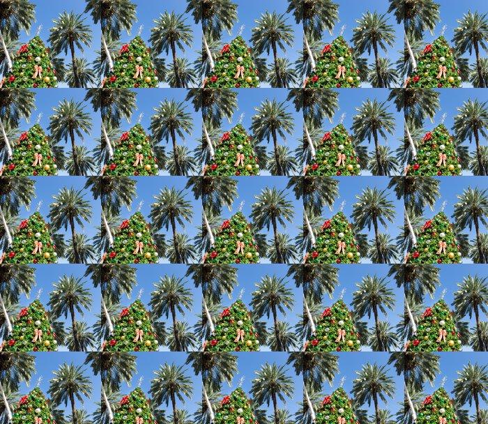 Vinylová Tapeta Vánoční strom v Miami - Amerika