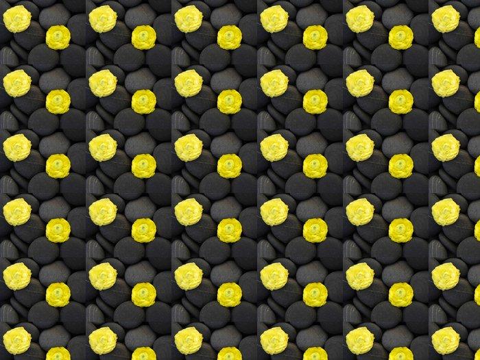 Vinylová Tapeta Dvě žluté pryskyřník na oblázky - Životní styl, péče o tělo a krása