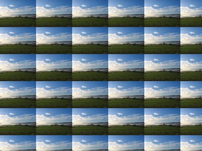 Vinylová Tapeta Ranní mlha v Howe O 'Cromar, Aberdeenshire, Skotsko - Venkov