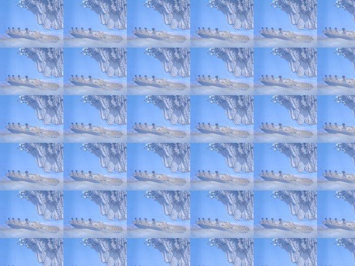 Vinylová Tapeta Titanic loď - 3D vykreslování - Témata