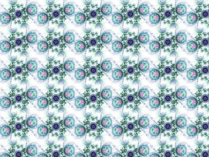 Vinylová Tapeta Barevné strojek vzor, digitální fraktální umění designu - Pozadí