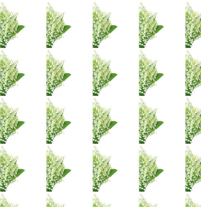 Vinylová Tapeta Lily of the Valley izolovaných na bílém - Roční období