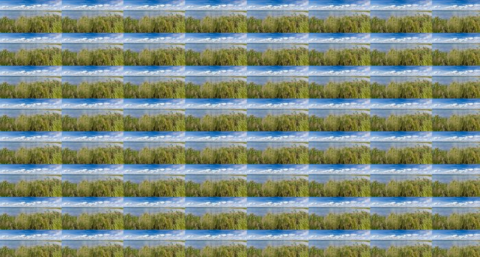 Vinylová Tapeta Letní panorama k mostu na ostrov Oland - Evropa