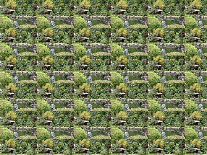 Vinyltapete Japanese Garden - Asien