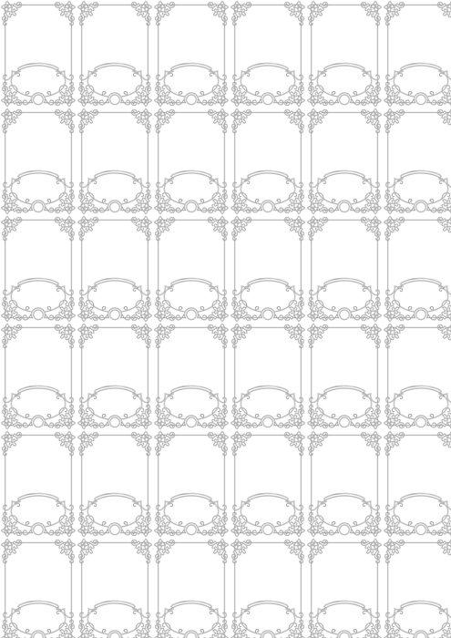 Vinylová Tapeta Prázdný rám řádek - Pozadí