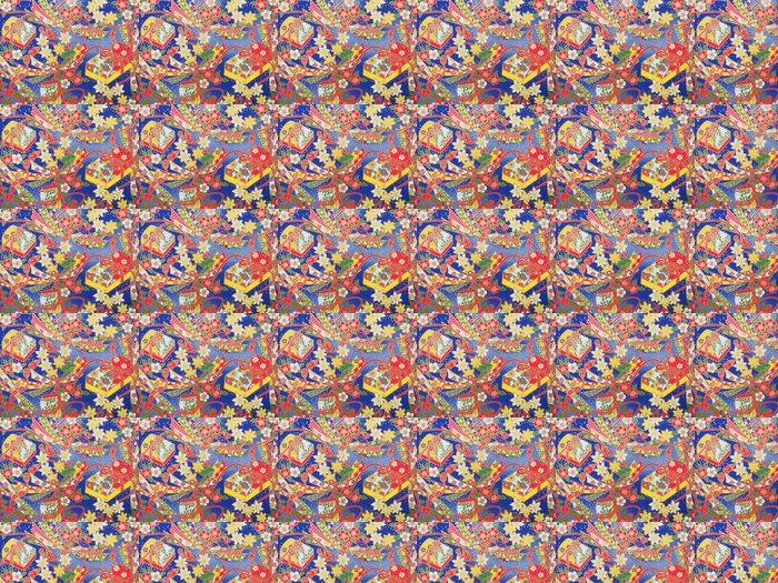 Vinylová Tapeta Japonský ornamentální pozadí - Asie