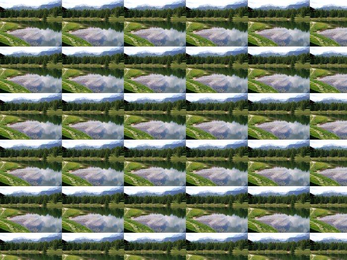 Vinylová Tapeta Alpská krajina - Evropa