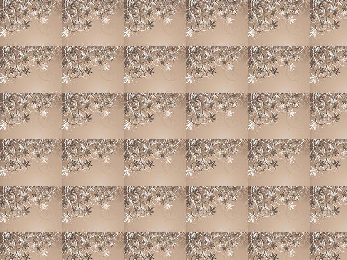Vinylová Tapeta Floral abstraktní. - Květiny