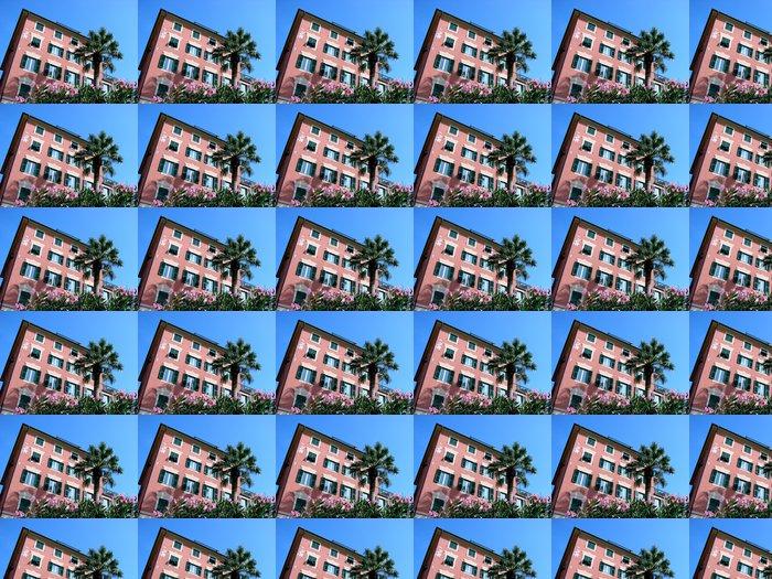 Vinylová Tapeta Italská Riviera typický dům - Soukromé budovy