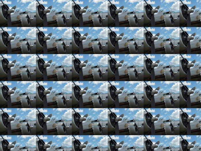 Vinylová Tapeta Podrobnosti vrtulí světová válka II B17 bombardér je - Témata