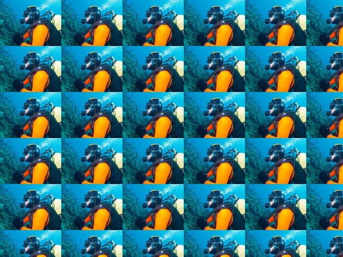 Vinylová Tapeta Scubadiver - Vodní sporty