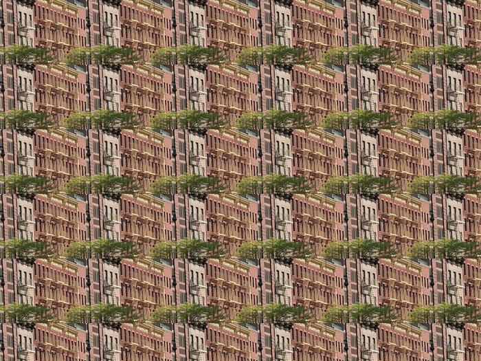 Vinylová Tapeta Nouzové východy - Americká města