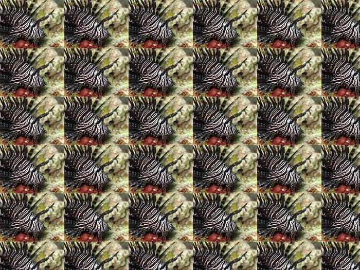 Vinylová Tapeta Černý ohnivý - Asie