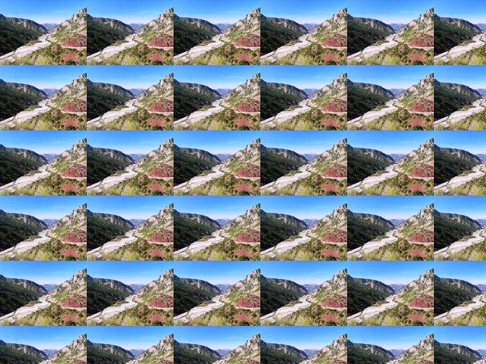 Vinylová Tapeta Údolí řeky var v Provence / Francie - Outdoorové sporty