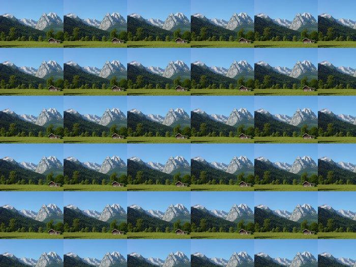 Vinylová Tapeta Berglandschaft - Outdoorové sporty