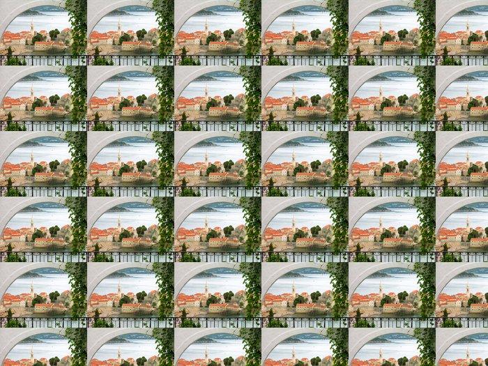 Vinylová Tapeta Staré město Budva, Černá Hora - Evropa