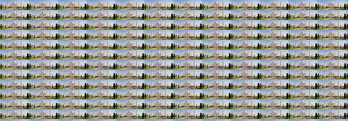 Vinylová Tapeta Taj Mahal, Agra - Témata
