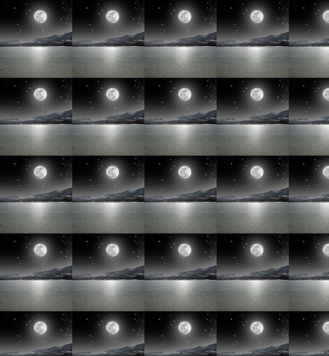 Vinylová Tapeta Moonlight na ledového jezera - Roční období
