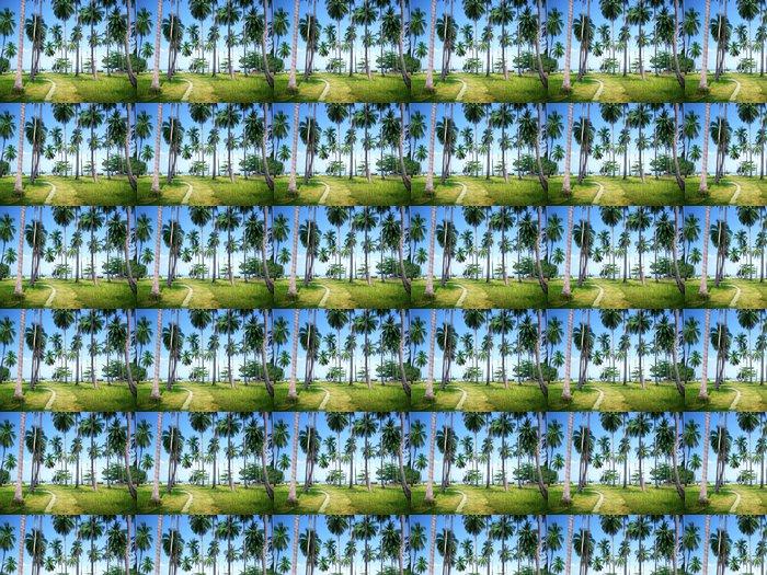 Vinylová Tapeta Palmy na pláži ostrova Phi Phi, Thajsko - Roční období