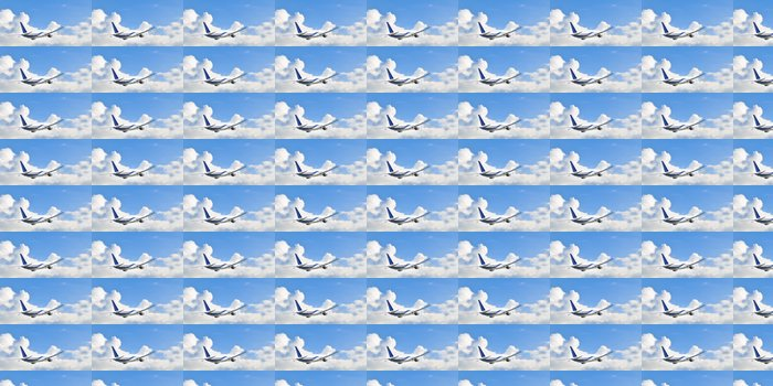 Vinylová Tapeta Letadlo ve vzduchu - Vzduch