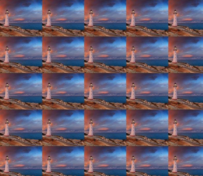 Vinylová Tapeta Castle Point Lighthouse, Nový Zéland - Mořské majáky