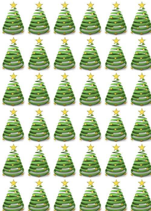 Vinylová Tapeta Vánoční strom - 3D - Mezinárodní svátky