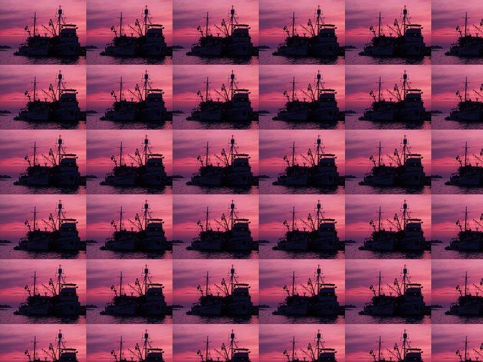 Vinylová Tapeta Staré rybářské lodi - Outdoorové sporty