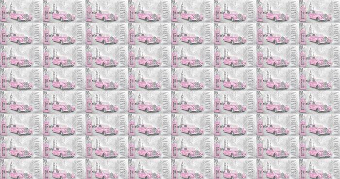 Vinylová Tapeta Retro auto v Londýně - Styly
