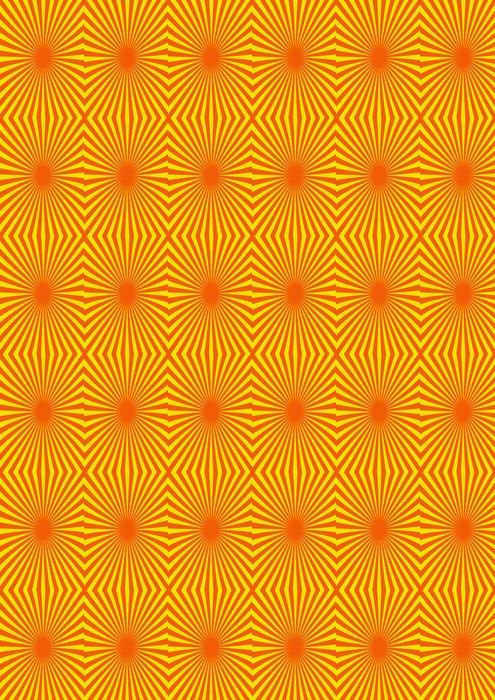 Vinylová Tapeta Pop hintergrund orange rot - Pozadí