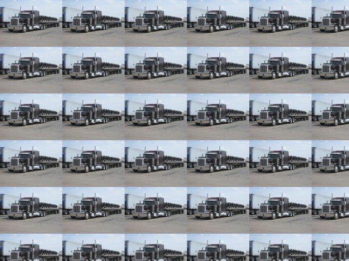 Tapete Schwarzpeter Lkw mit Stahldrahtspulen geladen • Pixers® - Wir ...