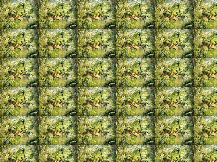 Vinylová Tapeta Svěží zelené deštný prales podél řeky Pororai, NZ - Témata