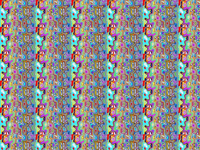 Vinylová Tapeta Pohyb barev - Pozadí
